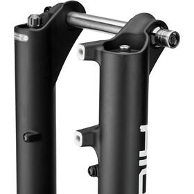 "SR Suntour SF18 Aion35 Boost RLR Fjedergaffel 27.5+/29"" konisk 130mm 15x110mm, black matte"